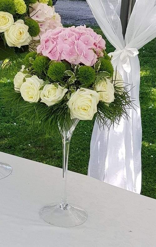 Addobbo fiori buffet