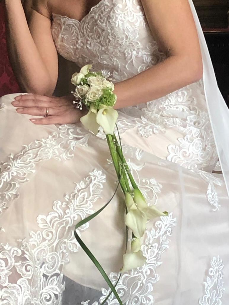 Bracciale fiori sposa