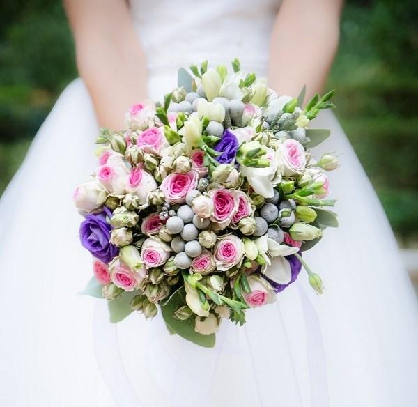 mazzetto fiori sposa