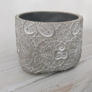 vaso di ceramica decorato